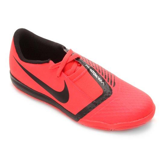 Chuteira Futsal Infantil Nike Phantom Venom Academy IC - Vermelho+Preto