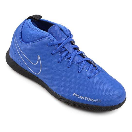 Chuteira Futsal Infantil Nike Phantom Vision Club DF IC - Azul