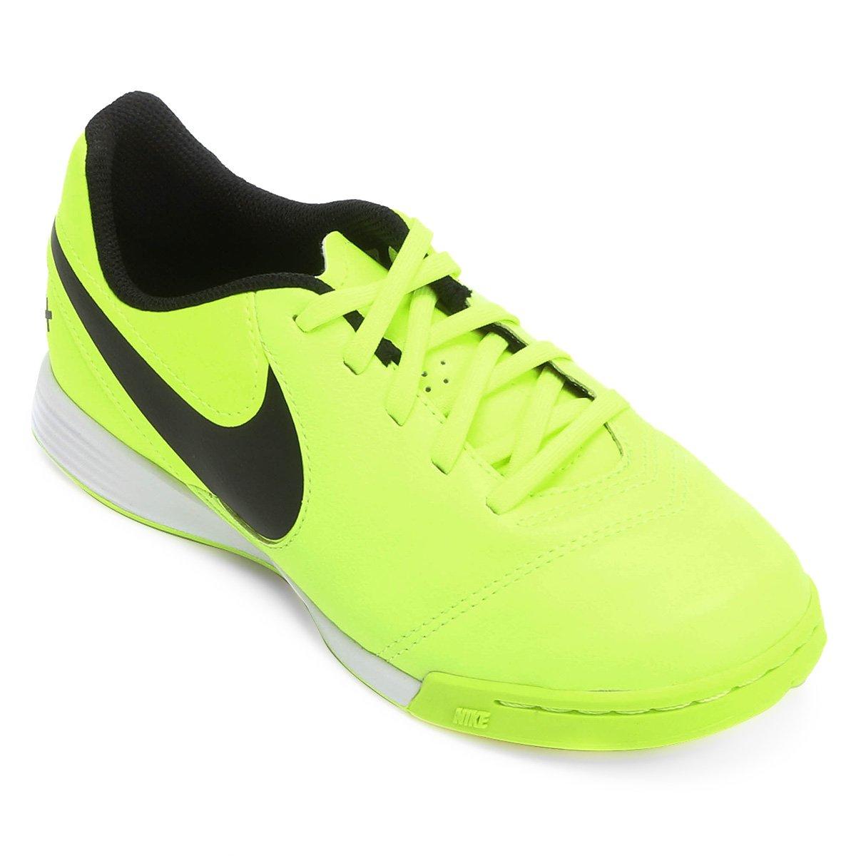 b78b8b4171 Chuteira Futsal Infantil Nike Tiempo Rio 3 IC - Compre Agora