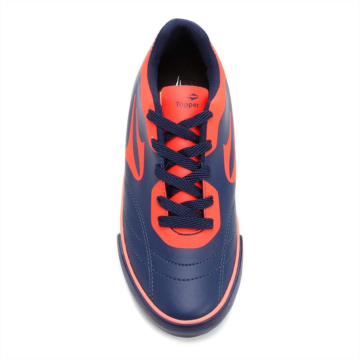 9868bb79b9b3c Chuteira Futsal Infantil Topper Frontier 8 Masculina - Compre Agora ...