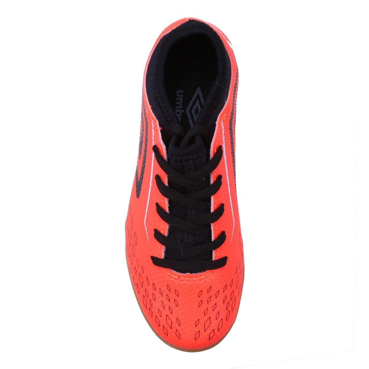 Chuteira Futsal Infantil Umbro Velox - Laranja - Compre Agora  670f338d5c67b