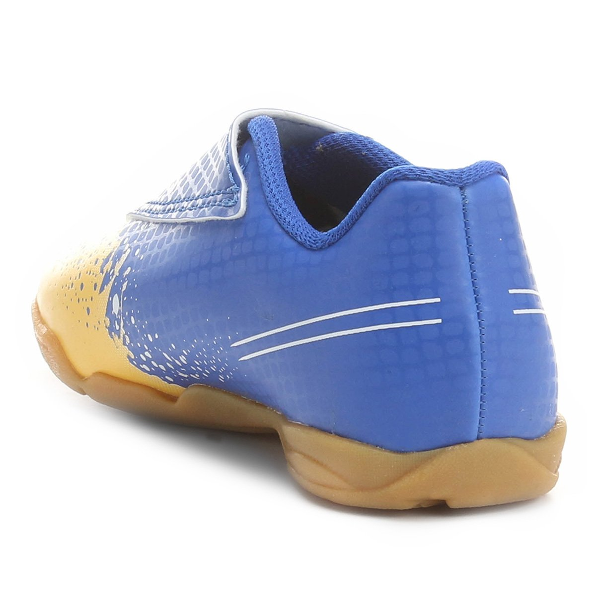 Chuteira Futsal Infantil Umbro Wave - Azul e amarelo - Compre Agora ... d62a01de3d3ec