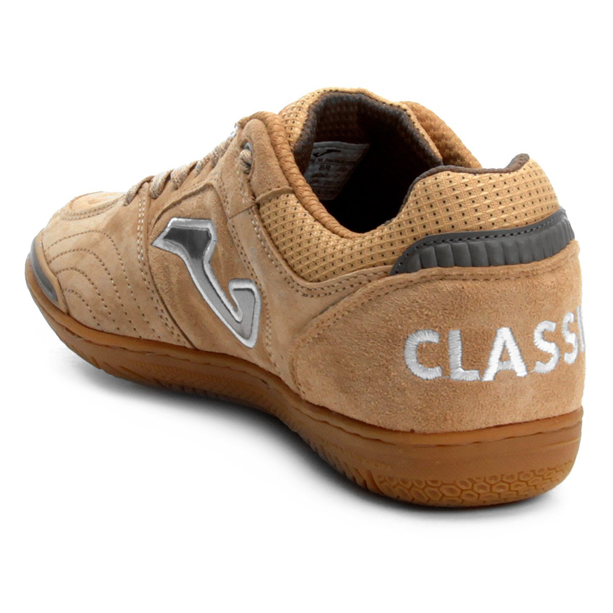 Chuteira Futsal Joma Classic Nobuck IN - Bege - Compre Agora  f4dd2a7d08414