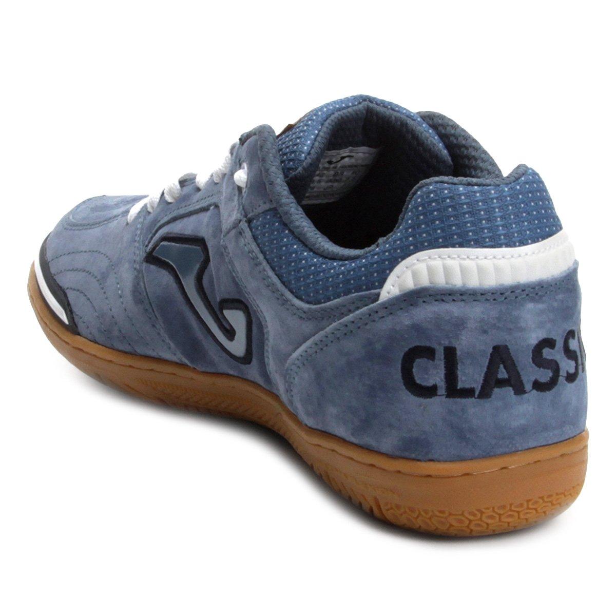 Chuteira Futsal Joma Classic Nobuck IN - Azul - Compre Agora  7c9d8e54d149f