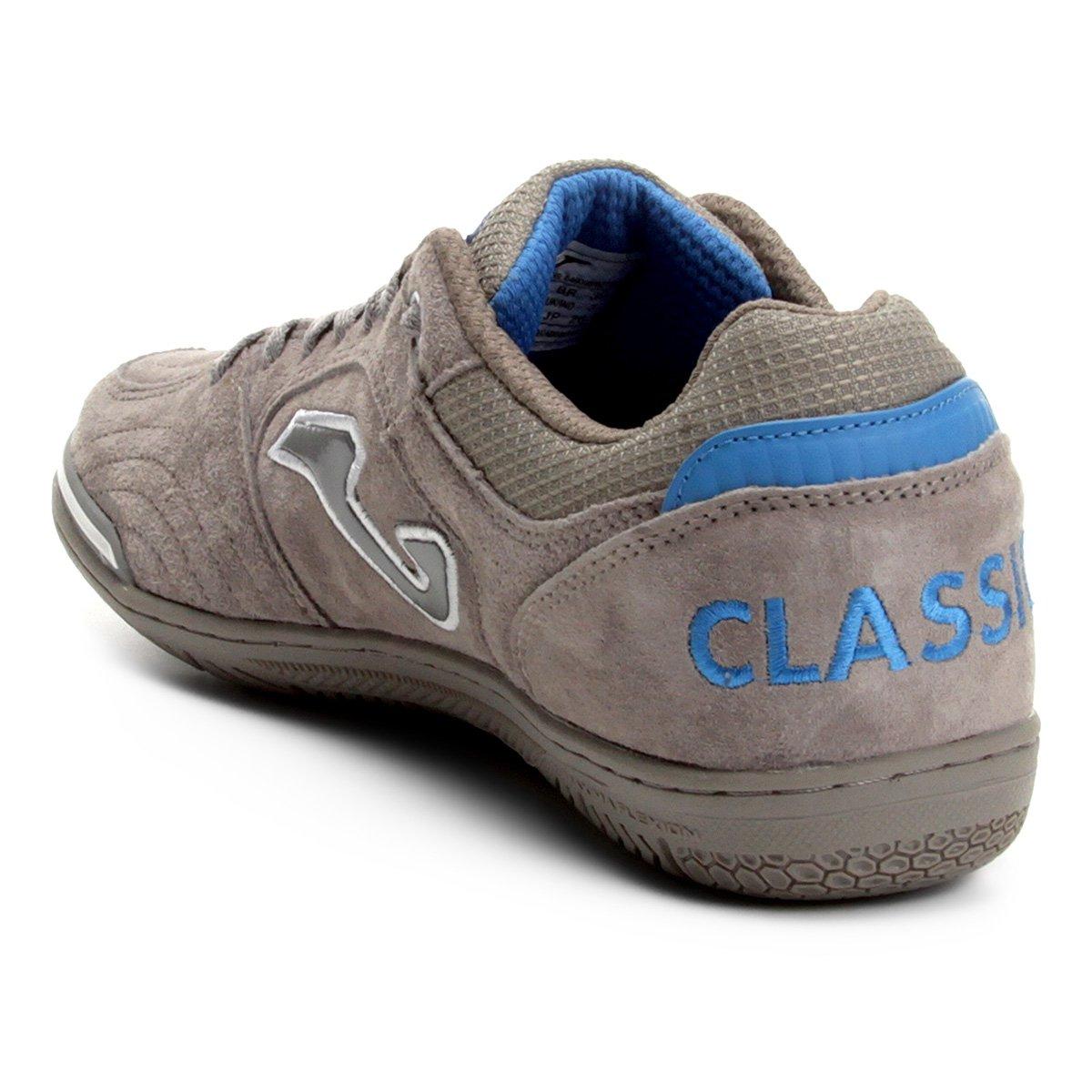 Chuteira Futsal Joma Classic Nobuck IN - Cinza - Compre Agora  1ef2826bb9df7