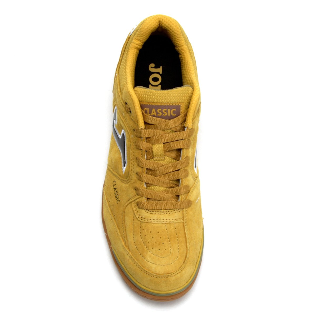 Chuteira Futsal Joma Classic Nobuck IN - Amarelo - Compre Agora ... f55e356bbc717