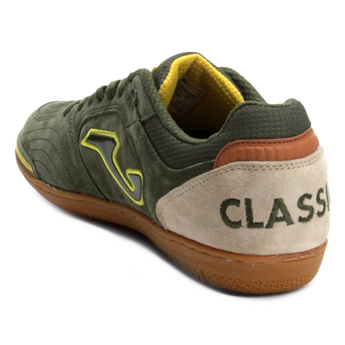 Chuteira Futsal Joma Classic Nobuck IN - Verde - Compre Agora  15f6b8b38be1f