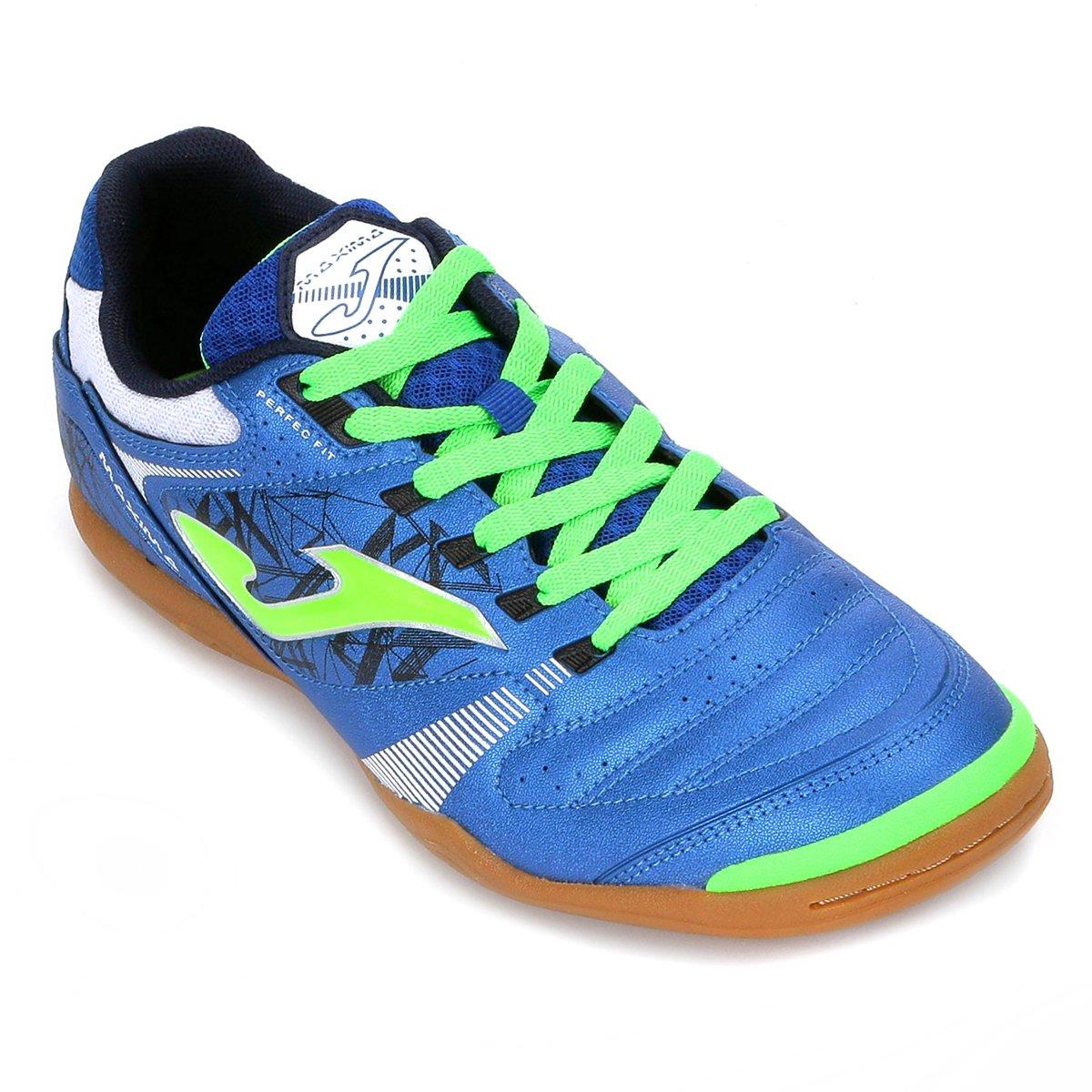 IN Maxima Masculina Azul Chuteira Joma Futsal Chuteira Futsal q8vzPvwUX1