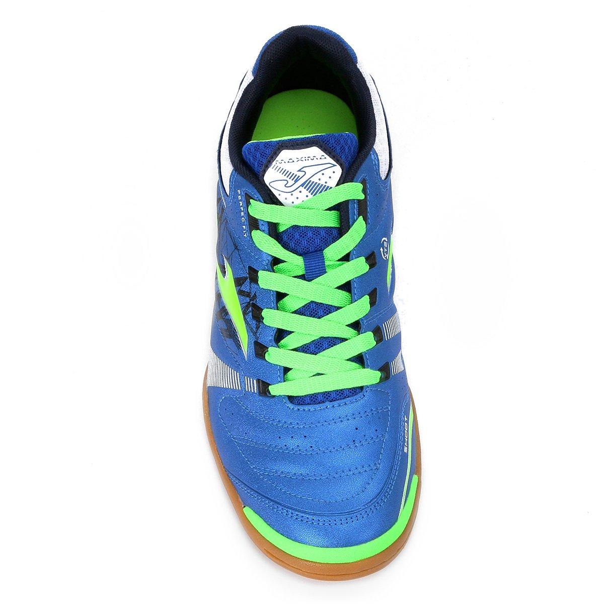 Chuteira Futsal Joma Maxima IN - Azul - Compre Agora  2322661c64105