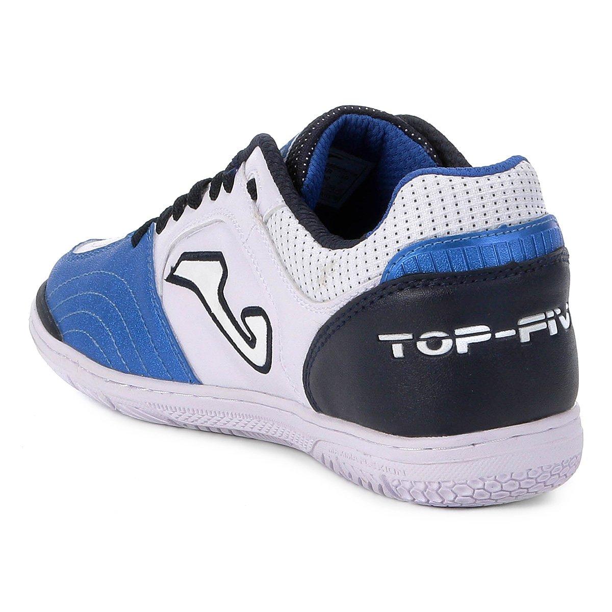 e1a5847dd5 Chuteira Futsal Joma Top Five IN - Branco - Compre Agora