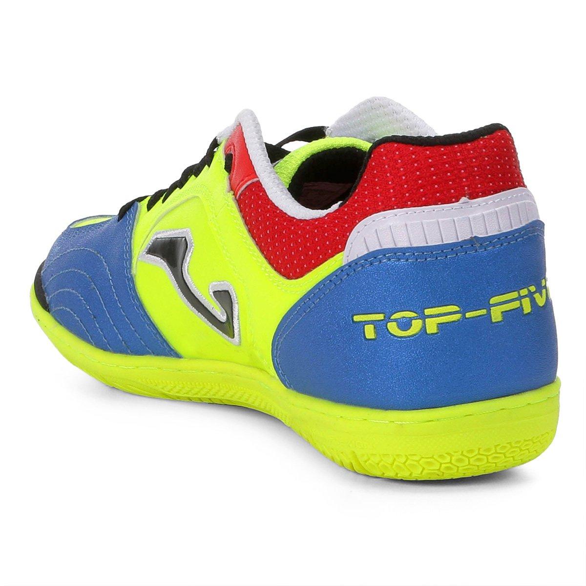 Chuteira Futsal Joma Top Five IN - Verde - Compre Agora  1ea5b8d099815