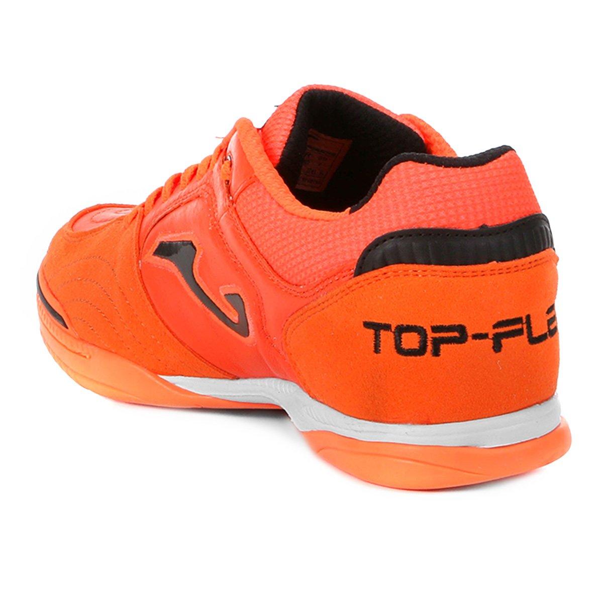 4030353a8e Chuteira Futsal Joma Top Flex IN - Coral - Compre Agora