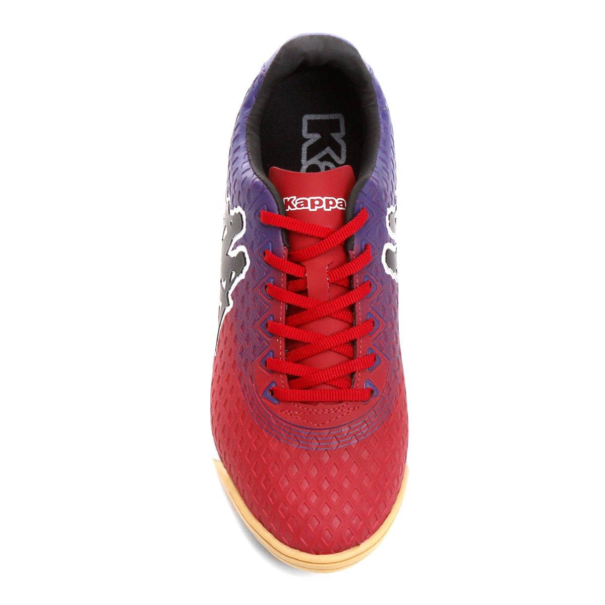 Chuteira Masculina Chuteira Futsal Vermelho Kappa Reno Futsal Roxo e rxXr1Pwn