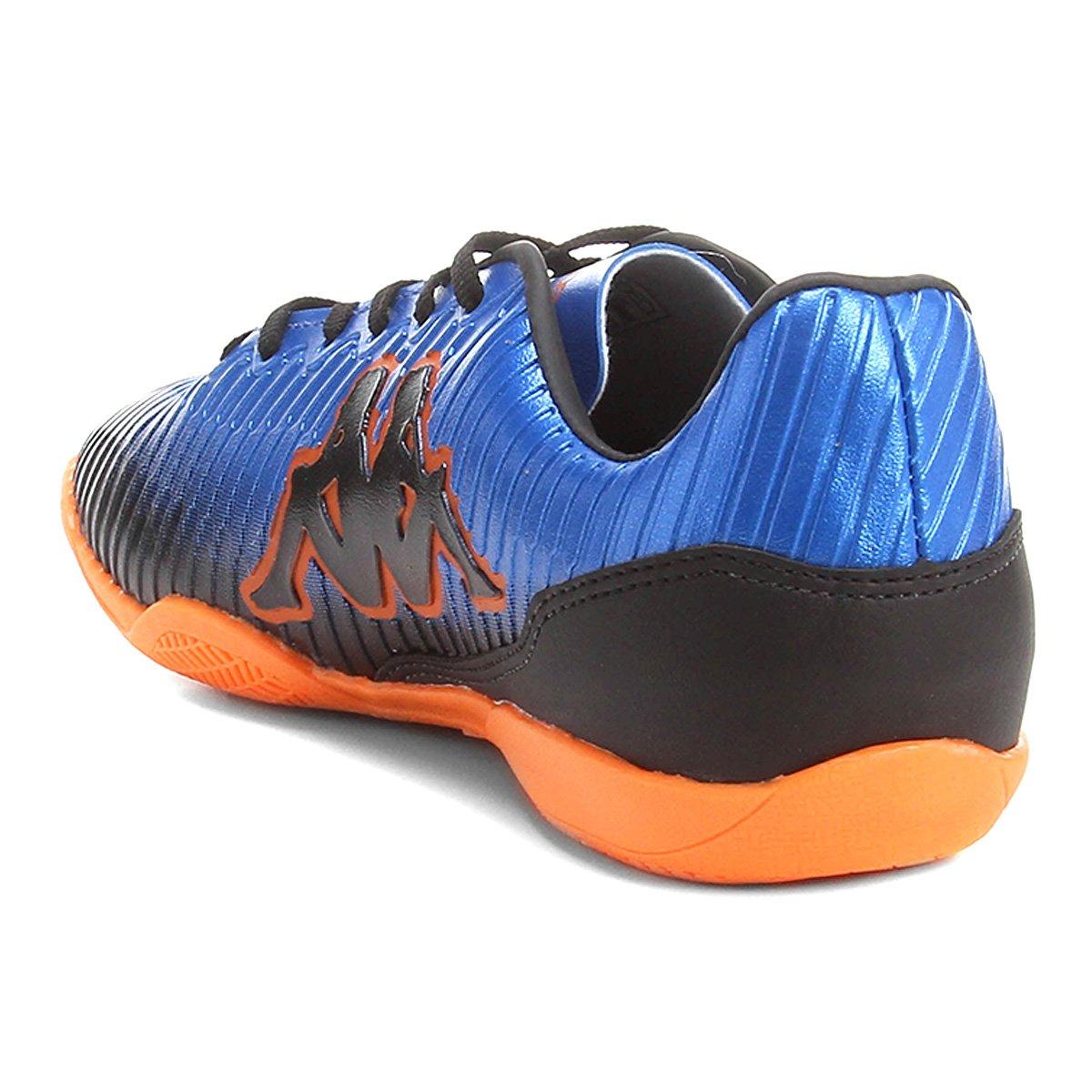 22b2611c1d Chuteira Futsal Kappa Tibre - Azul e Azul claro - Compre Agora ...