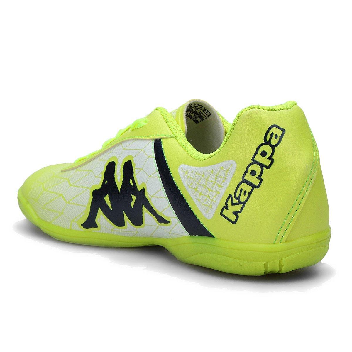 8d5e9de133 Chuteira Futsal Kappa Torpedo - Verde e Branco - Compre Agora