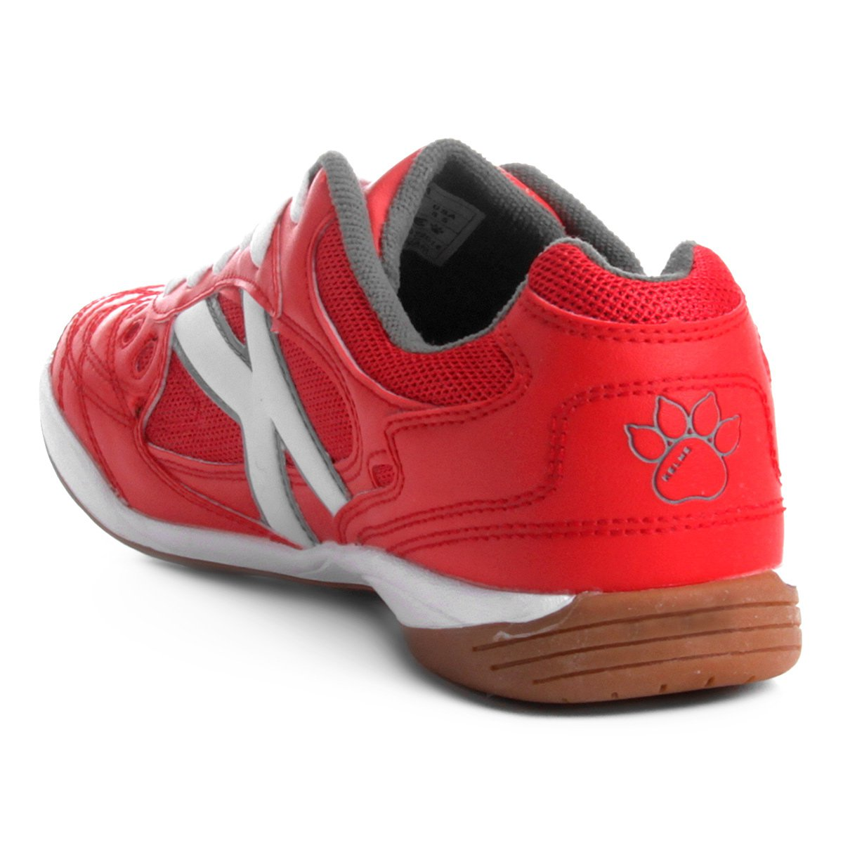 Chuteira Futsal Kelme Copa - Vermelho e Branco - Compre Agora  1468e417f1c78