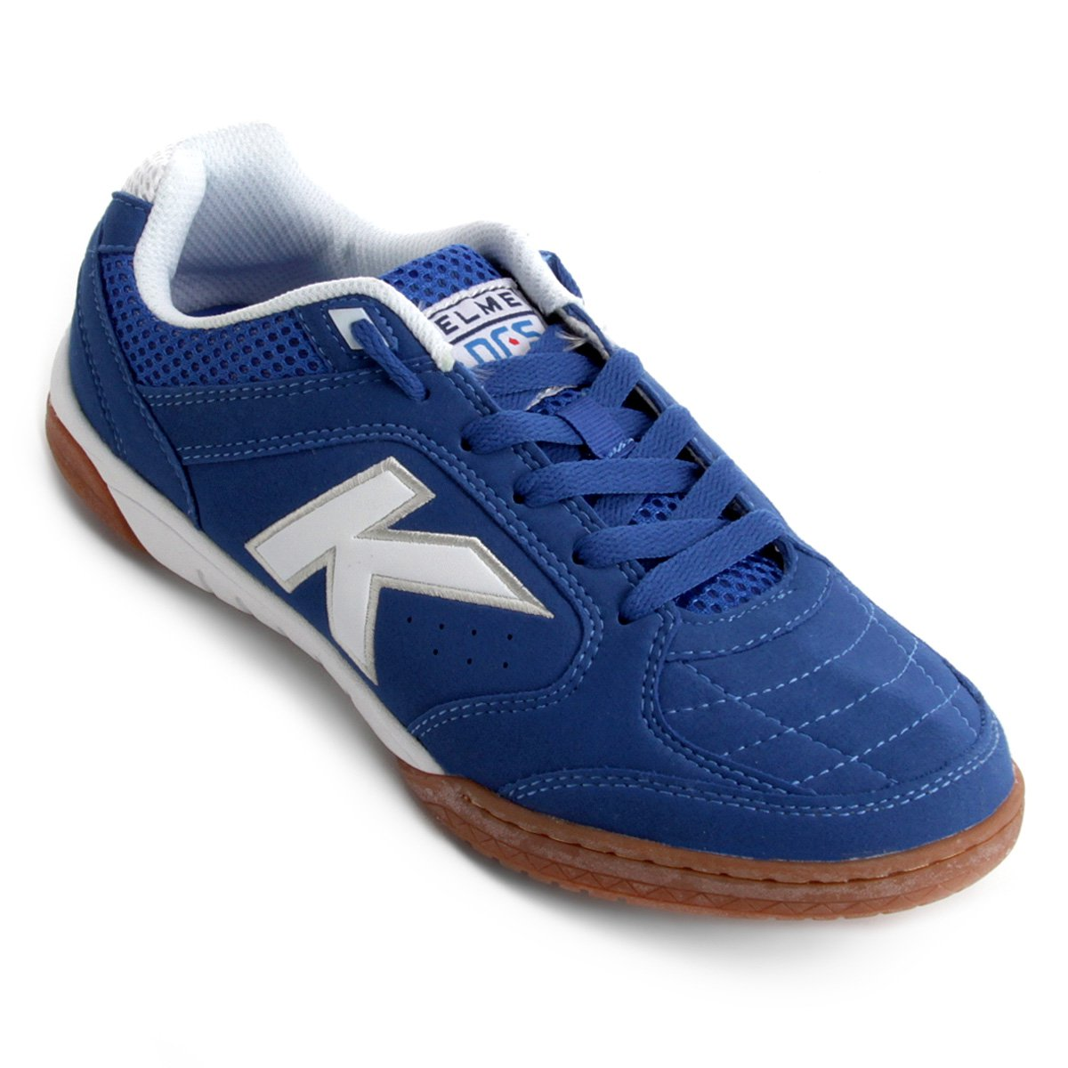 Futsal Precision Chuteira Kelme Branco e Azul Lnfs Masculina Chuteira Futsal  EvIqWFwxH ... 1a1fbc2750ceb