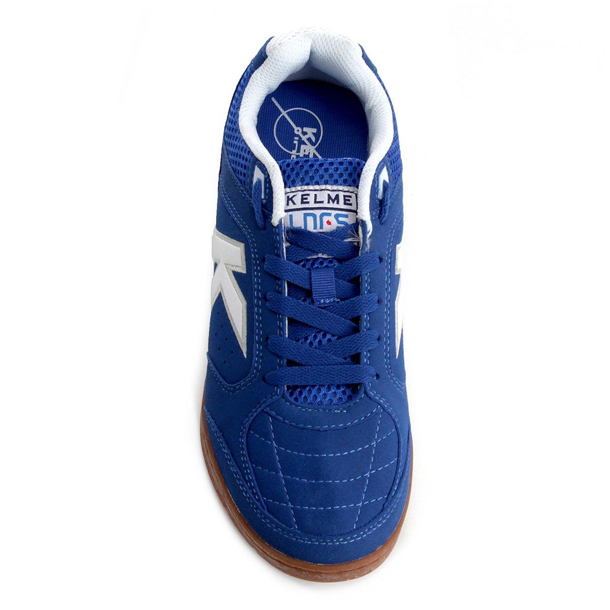 Azul Precision e Kelme Futsal Chuteira Futsal Branco Masculina Chuteira Lnfs 8qTR0WIR