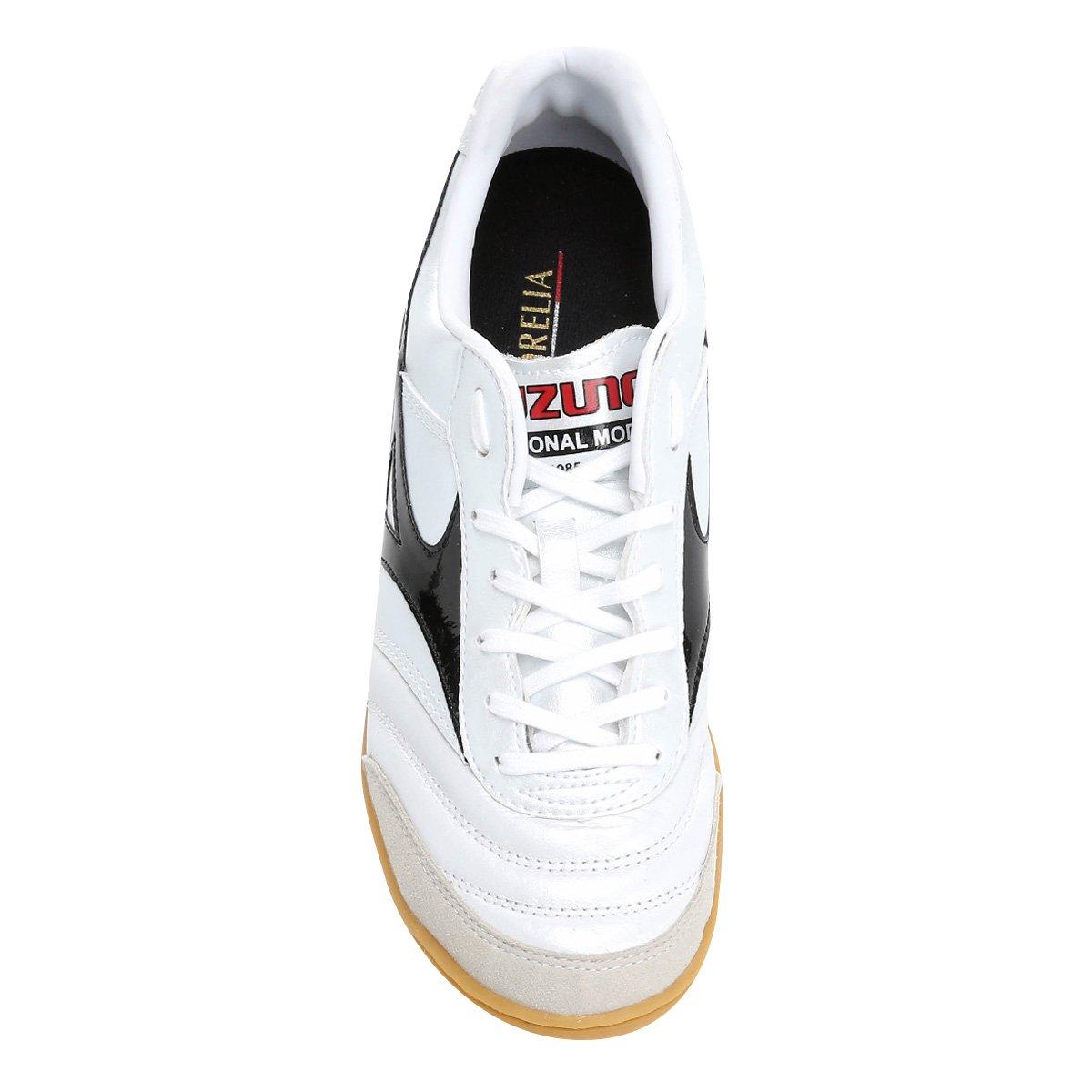 Mizuno Preto Elite Masculina 2 Morelia e Branco Chuteira IN Futsal f4qRaR