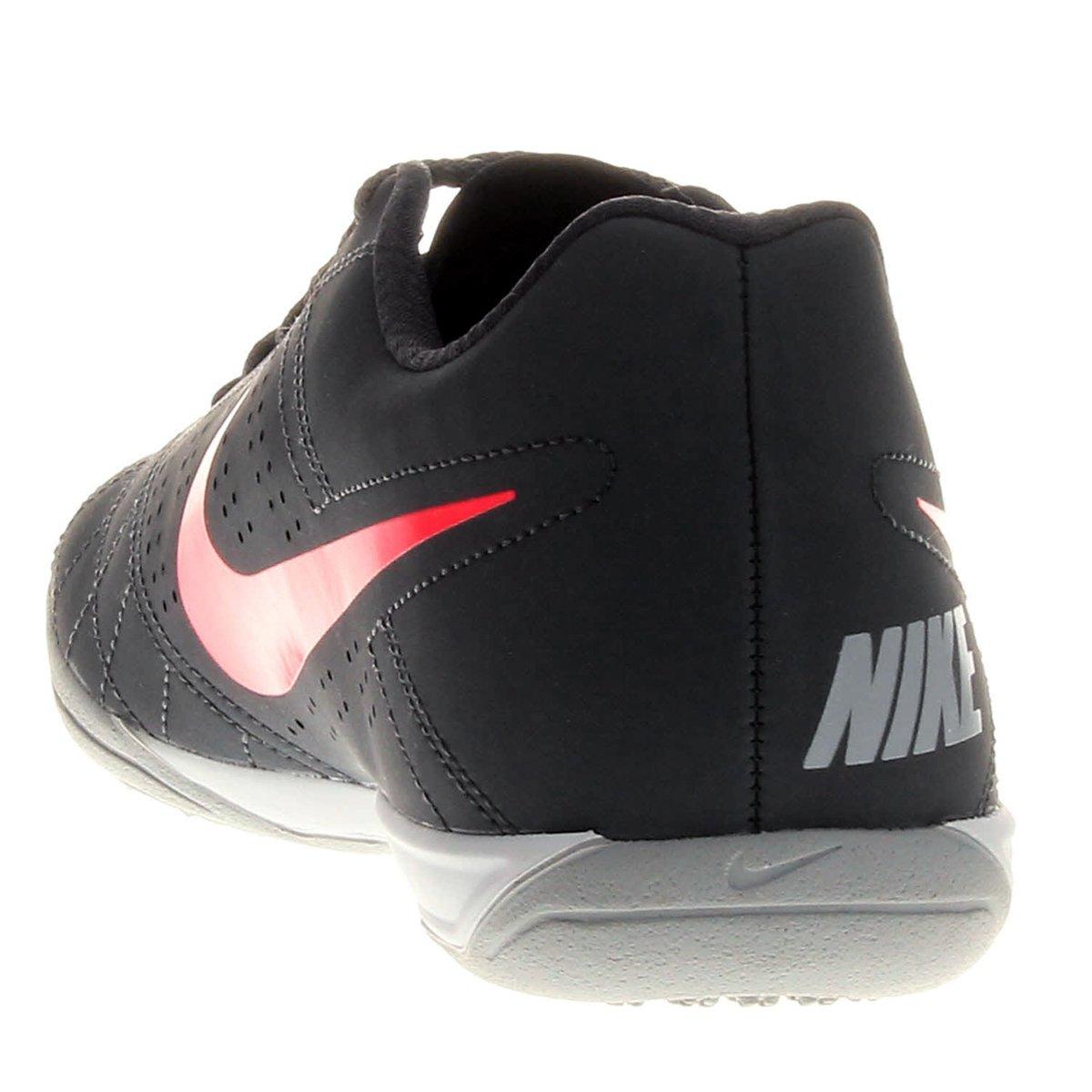f767fd76de Chuteira Futsal Nike Beco 2 Futsal - Chumbo e Rosa - Compre Agora ...