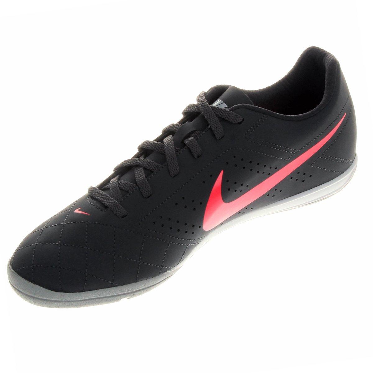 Chuteira Futsal Nike Beco 2 Futsal - Chumbo e Rosa - Compre Agora ... fc33f56aedcd5