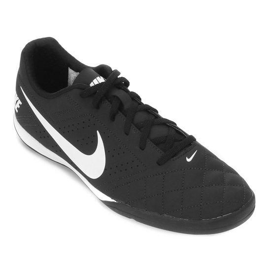 Chuteira Futsal Nike Beco 2 - Preto+Cinza