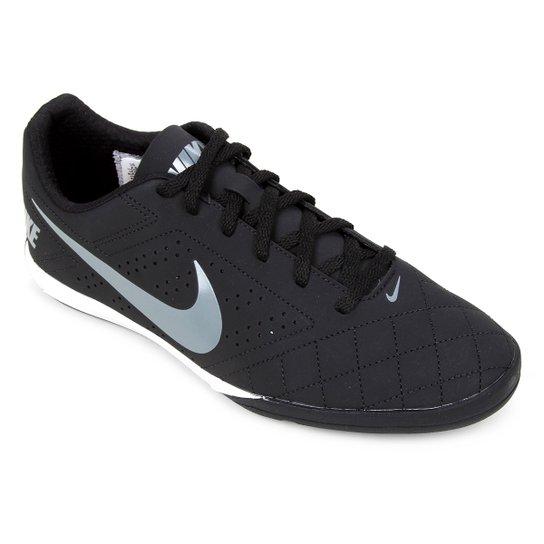 Chuteira Futsal Nike Beco 2 - Preto+Chumbo