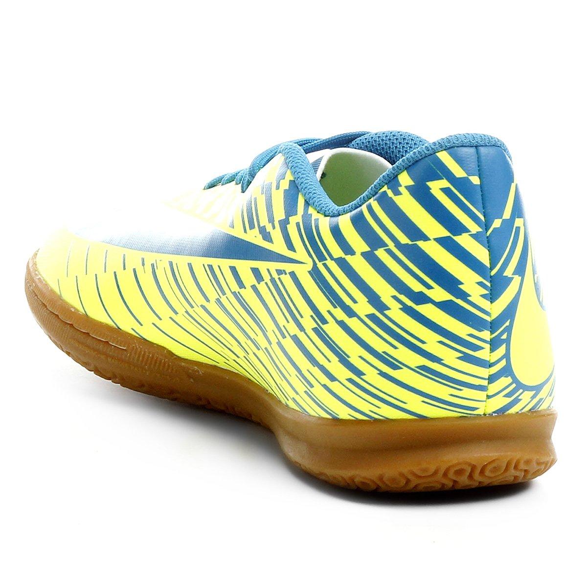 Chuteira Futsal Nike Bravata 2 IC - Azul e amarelo - Compre Agora ... 18d96ea36578e
