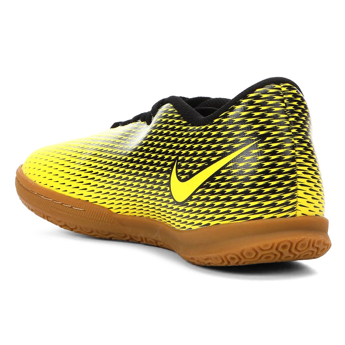 Chuteira Futsal Nike Bravata II IC - Amarelo e Preto - Compre Agora ... ee044dc5016c5