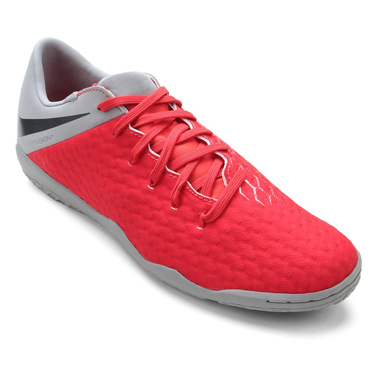 Chuteira Futsal Nike Hypervenom Phantom 3 Academy IC - Compre Agora ... fccd6224a781c