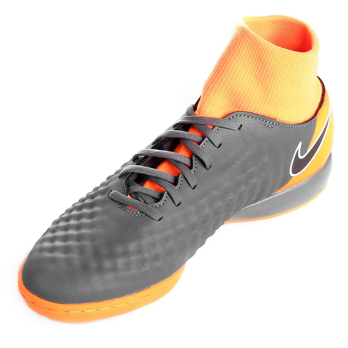 e67933ec57 ... Magista Preto Masculina Fit Academy 2 e Cinza Nike Obra Chuteira  Dinamic Futsal 4qEHaa