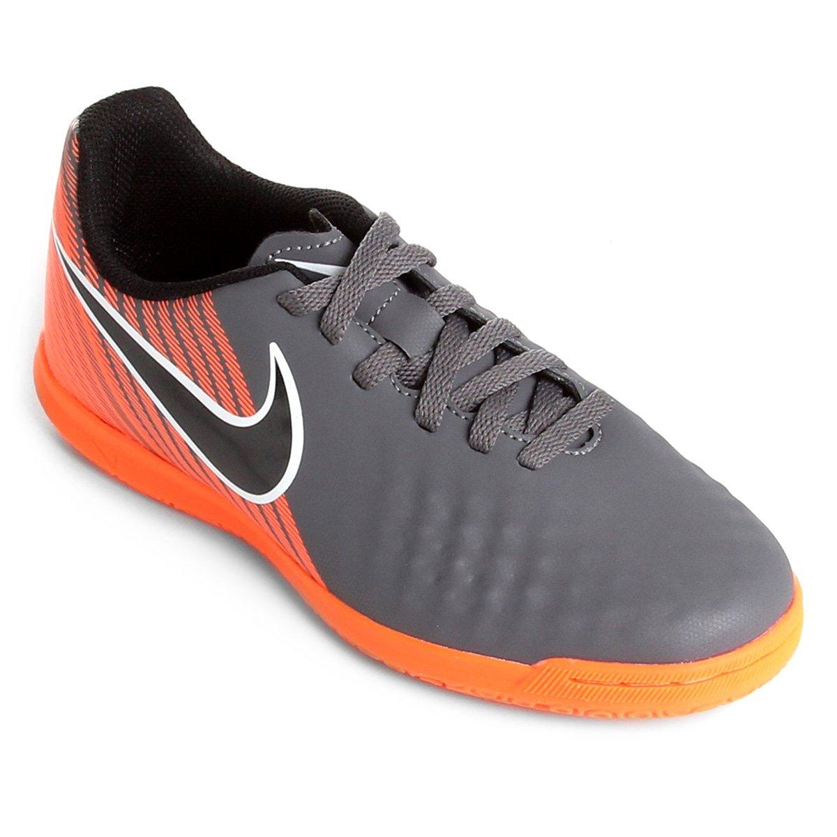 Chuteira Futsal Nike Mercurial Vapor 12 Academy Masculina Laranja 3bdc2e8692c7c