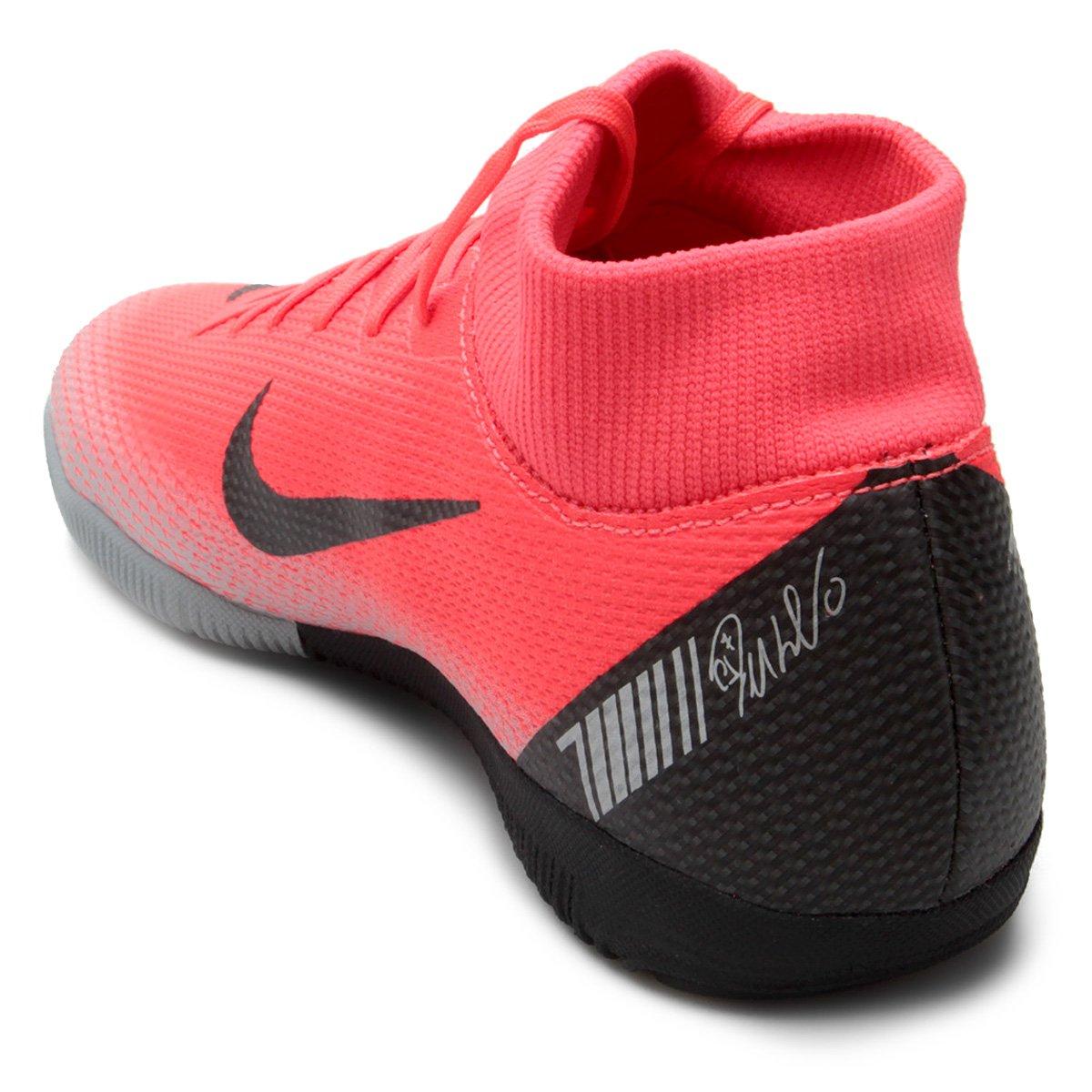 Chuteira Futsal Nike Mercurial Superfly 6 Academy CR7 IC - Vermelho ... 3c0c15348f696