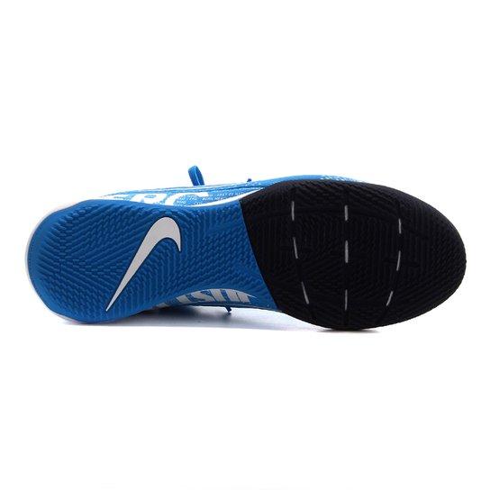 Chuteira Futsal Nike Mercurial Superfly 7 Academy IN - Azul+Branco