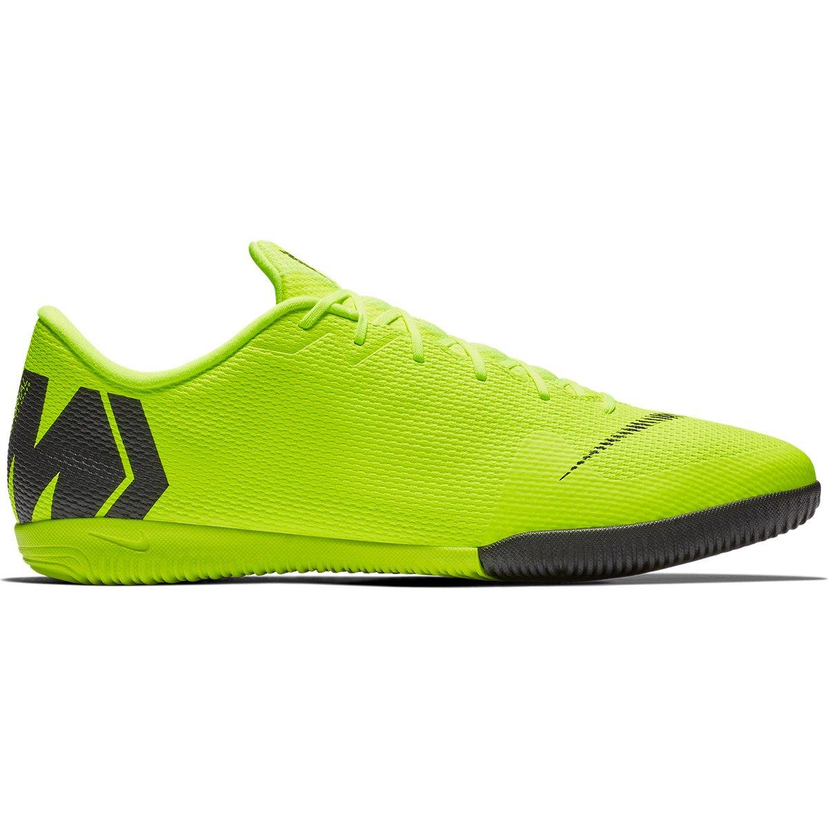 Chuteira Futsal Nike Mercurial Vapor 12 Academy - Verde e Preto ... 0d0f1552360e3