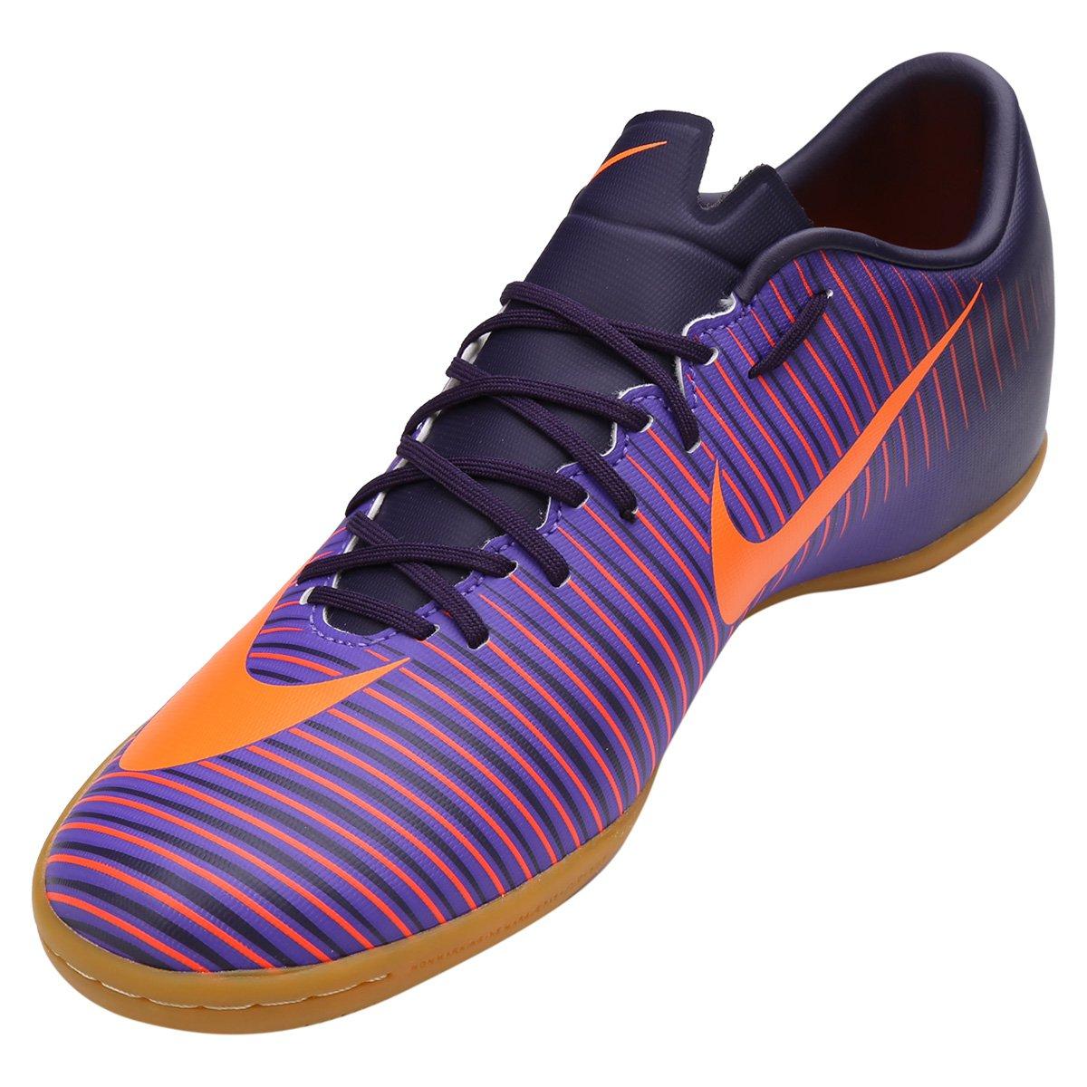 ab38467e69 Chuteira Futsal Nike Mercurial Victory 6 IC - Roxo - Compre Agora ...