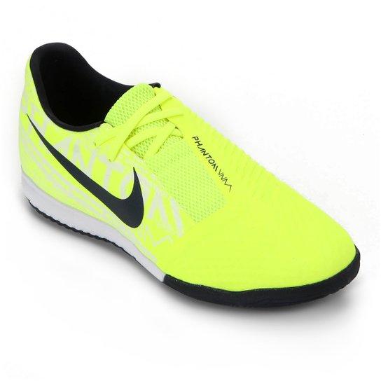 Menor preço em Chuteira Futsal Nike Phantom Venom Academy IC - Verde Limão