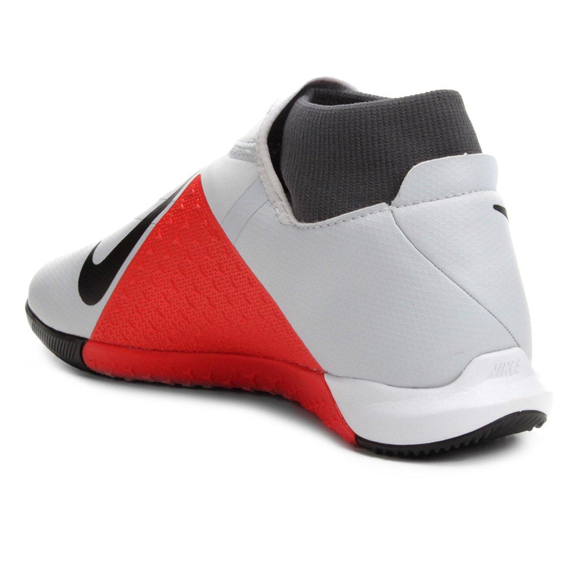 Chuteira Futsal Nike Phantom Vision Academy DF IC - Cinza - Compre ... 6c4f0fc7e447f