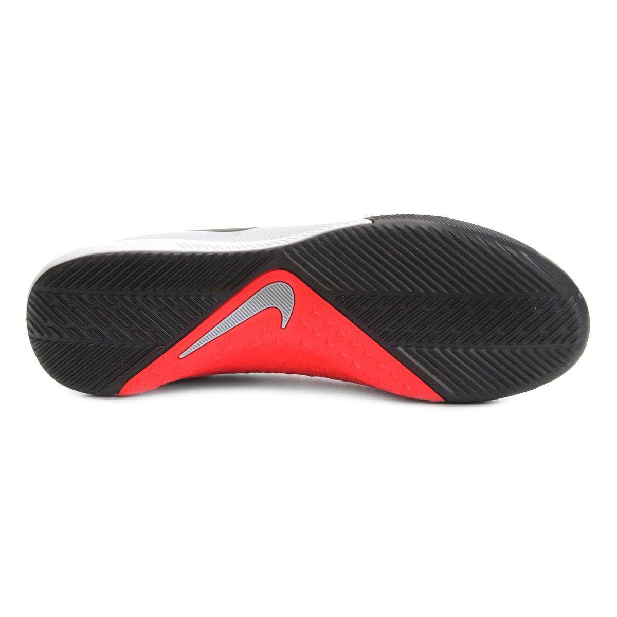 bd4b08c885 Chuteira Futsal Nike Phantom Vision Academy DF IC - Cinza - Compre ...
