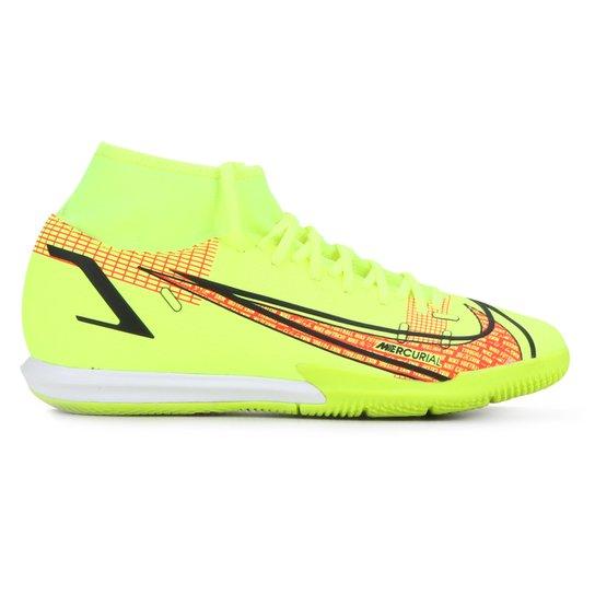 Chuteira Futsal Nike Superfly 8 Academy - Verde Limão