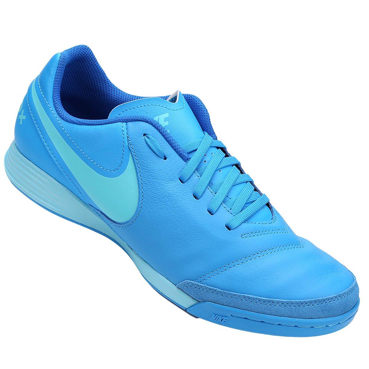 Chuteira Futsal Nike Tiempo Genio 2 Leather IC - Compre Agora  873e1667ff37e
