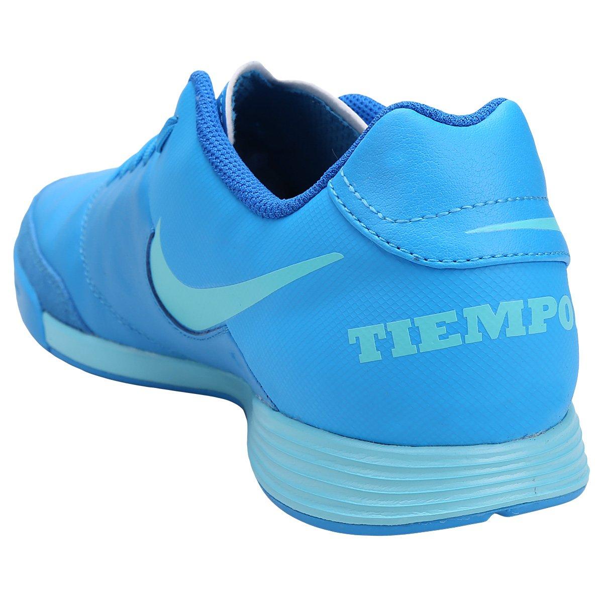 Chuteira Futsal Nike Tiempo Genio 2 Leather IC - Compre Agora  4d22d53c2a71a
