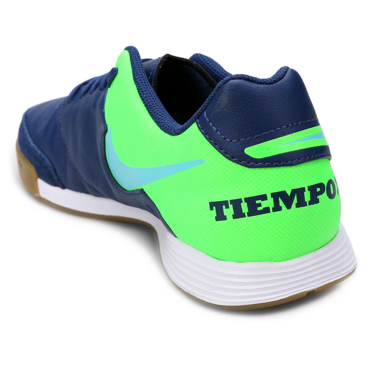 995b7e3656 Chuteira Futsal Nike Tiempo Genio 2 Leather IC - Compre Agora