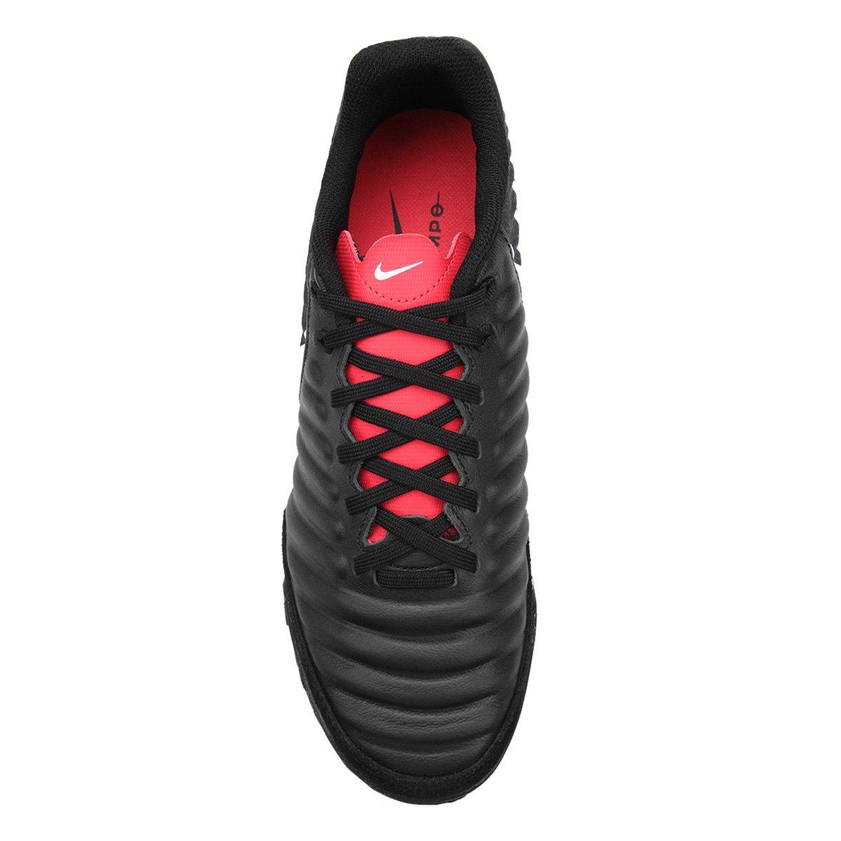 5951934fa9 Chuteira Futsal Nike Tiempo Legend 7 Academy IC - Preto e Cinza ...