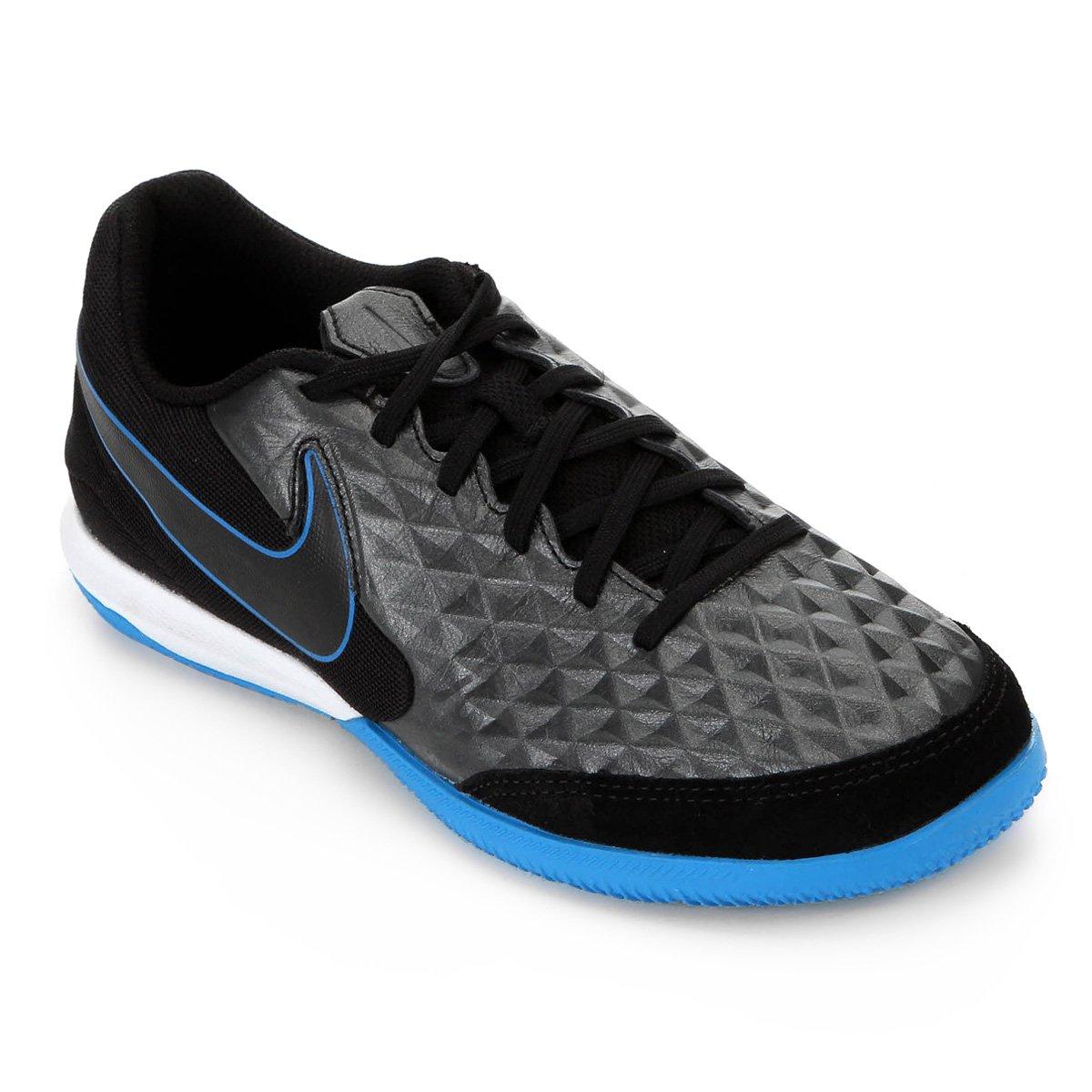 premium selection 140a5 61ef9 Chuteira Futsal Nike Tiempo Legend 8 Academy IC - Preto e Azul