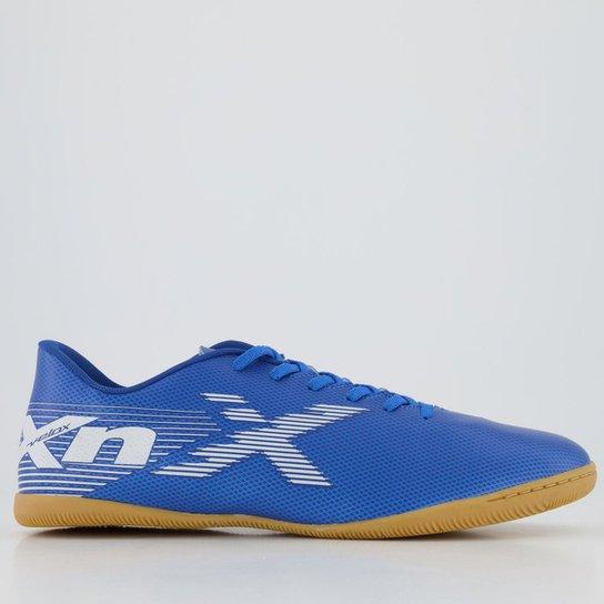 Chuteira Futsal OXN Velox 2 252 - Azul+Branco
