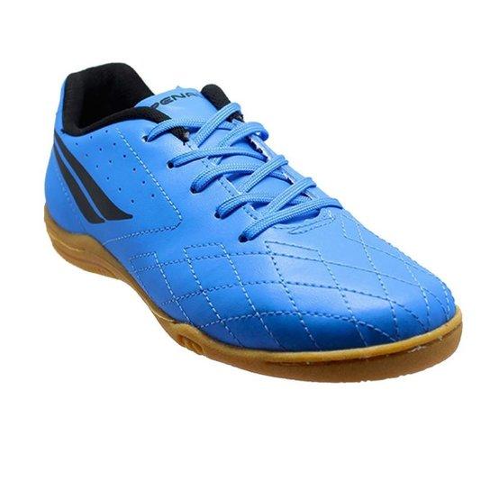 Chuteira Futsal Penalty Americas Kids IX - Azul+Preto