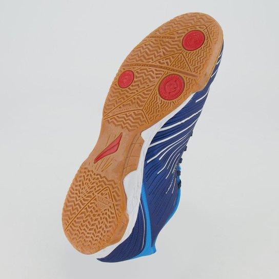 Chuteira Futsal Penalty Digital VIII Masculina - Azul