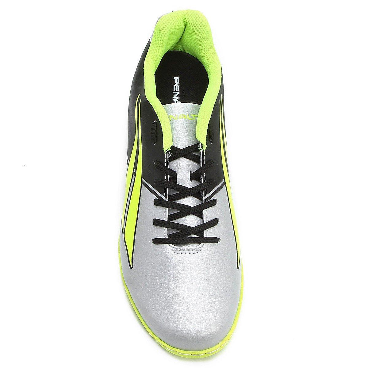 Limão Penalty Matis Futsal Chuteira Verde Masculina 7 Prata e AqfSTZwx