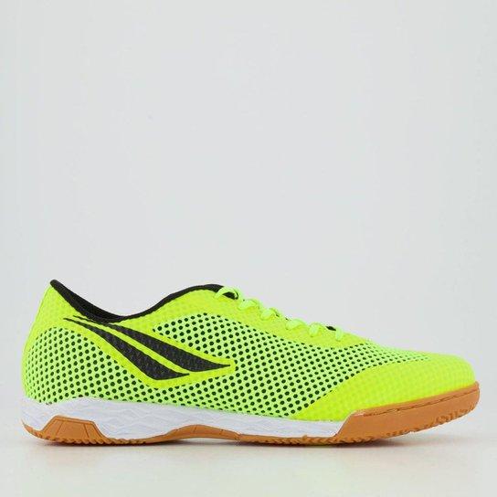 Chuteira Futsal Penalty Max 500 IX - Amarelo